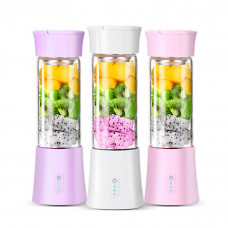 Portable Mini Electric Juicer Mixer USB Charging Mini Fruit Extractor Food Milkshake Multifunctional Juice Machine