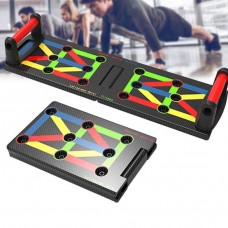 17 In 1 Push Up Rack Board Fitness Pushup Stands Arm Abdominal Muscle Training Gym Exercise Tools