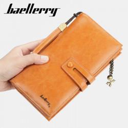 Baellerry Women Beauty Faashion Long Wallet Clutches Bag Zipper Phone Bag