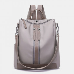 Women Fashion Casual Anti-theft Backpack Multifunctional Bag With Headphone Port