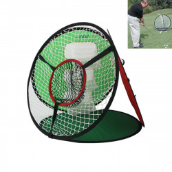 4 In 1 Golf Chipping Practice Net Outdoor Sport Folding Golf Training Net With Golf Balls