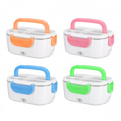 Dual Use Car+EU Plug Stainless Steel Food Warmer Electric Lunch Box Lunch Bneto Heater 40W