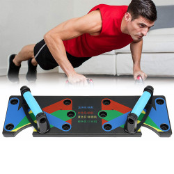 1 Set Multifunctional ABS Exercise Push Up Stand Gym Fintess Equipment Body Muscle Training Tools