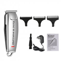 Rechargeable Hair Clipper All Metal Electric Hair Trimmer Men Professional Beard Trimmer Haircut Machine