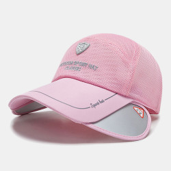 Summer Sun Hat Fishing Hat Mesh Breathable Baseball Cap