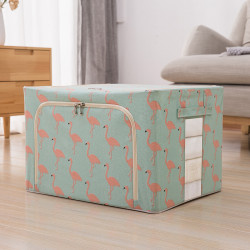 Clothes Toys Foldable Storage Box Basket Home Clothing Storage Bag Organizer Container