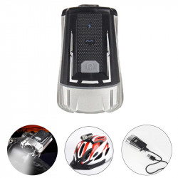 WHEEL UP 300LM XPG LED Bike Front Light 4 Modes USB Charging Night Warning Light Cycling Climbing