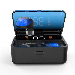 2000mAh Wireless bluetooth 5.0 Headphones Touch Control Headset Earphone Stereo Earbuds with Mic