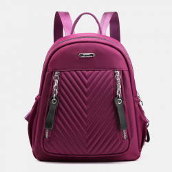 Women Large Capacity Light Weight Waterproof Backpack