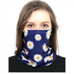 Dust-proof Printed Elastic Lightweight Breathable Turban Bandanas Scarf Neck Gaiter
