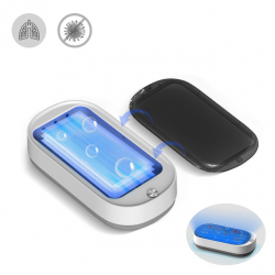 IPRee UVC-LED Automatic Disinfection Box Smart UV Lamp Wireless Charging Multifunction Sanitizer