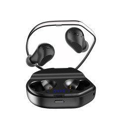 Langsdom T13D Mini True Wireless Stereo Earphone TWS Battery Indicator Earbuds Hedaphone with Mic