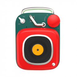 Bakeey HM20 Wireless bluetooth Speaker Mini Cute Nostalgic Loudspeaker Stereo Music Subwoofer