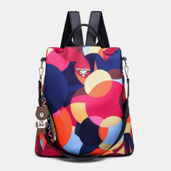 Wome Anti-theft Backpack Waterproof Casual Bag
