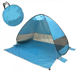 Fully Automatic P0P-UP Tent 2 Second Quick Open Beach Tent With Storage Bag Portable UV Protection Sunshade