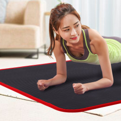 183x61x1cm NRB Yoga Mat Beginner Length Widen Non-slip Sports Fitness Mats