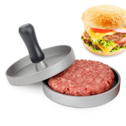 XYJ CCFG5096 Round Hamburger Press Non-Stick 11cm Meat Press Hamburger Meat Beef BBQ Grill Burger Press Patty Maker Mold