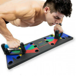 9 In 1 Push-Up Board Fitness Workout Muscle Strength Training Push Up Stand Home Exercise Tools