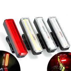 XANES TL39 High Brightness COB Bike Tail Light 9 Modes IPX6 Waterproof USB Rechargeable Cycling Bike Lamp
