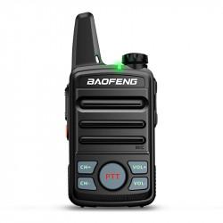Baofeng T99 Mini Ultra Thin Radio Walkie Talkie USB Charging Flashlight Civilian Intercom
