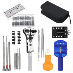 373 Pcs Smart Watch Repair Tools Kit Clock Band Strap Cover Remover Opener Screwdriver Watches Accessories