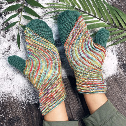 Vintage Glove Knit Retro Warm Gloves