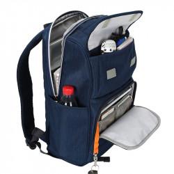 Men Large Capacity Nylon Waterproof Anti-theft Backpack