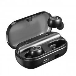TWS Wireless bluetooth 5.0 Earphone LED Digital Display 3500mAh CVC8.0 Noise Cancelling IPX7 Waterproof Headphone with Mic