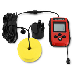 ZANLURE 45 100M 200KHz Sonar Beam LCD Screen IPX4 Fish Finder Fish Tracer Fishing Tool