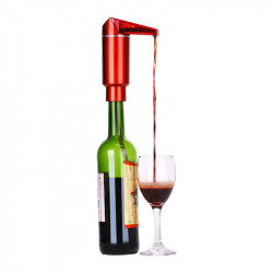 Smart Electric W-ine Decanter Pouring Tool Liquid Pourers Decanter LCD Display W-ine Pourer Pump Kitchen Tools