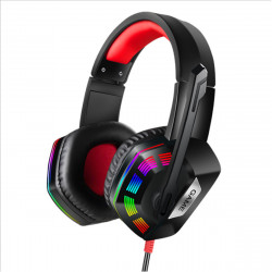 RGB Light Gaming Headset Noise Cancelling Headphone for PS4 Computer Game E-sport