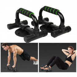 1 Pair Muscle Strength Training Push Up Stand Bar Sit-up Stands Home Workout Sports Fitness Equipment