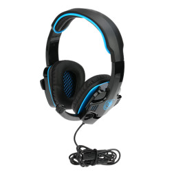 SADES SA-708GT 3.5mm Noise Cancellation Music Stereo Gaming Headphone with Mic for PC Laptop PS4