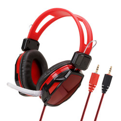 Soyto SY833MV 3.5mm Wired Game Headphone Bass Gaming Headset Stereo Earphone Headphones with Microphone for Computer PC Gamer