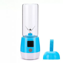 Multifunction Mini Juicer Food Milkshake Fruit Maker Machine USB Rechargeable Blender Camping Picnic