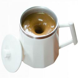 360ml Smart Automatic Self Stirring Ceramic Mug Milk Mixing Coffee Cup No Power Needed