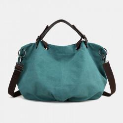 Women Canvas Vintage Handbag Shoulder Bag For Outdoor