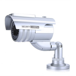 Bakeey Solar Powered Indoor Outoodr Dummy CCTV Simulation Security IP Camera with LED Flash Surveillance Seguridad