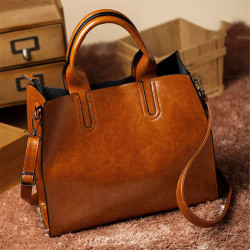 Women Ladies Leather Shoulder Bag Tote Purse Handbag Messenger Crossbody