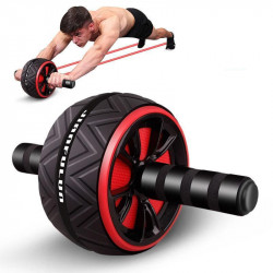 Single Abdominal Wheel Roller Home Gym Arm Waist Strength Training Fitness Exercise Tools