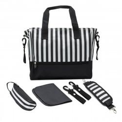 5 Pcs Baby Diaper Bag Mummy Bag Camping Travel Sorage Bag Nappy Handbag