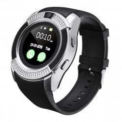 KALOAD V8 1.22in HD Camera Sim Card Smart Watch Audio Player Stopwatch Sports Bracelet Fitness Tracker