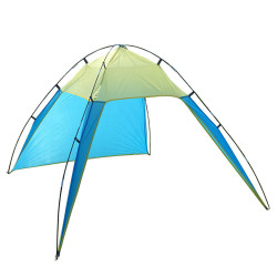 IPRee 230 x 210 x 160/90 x 82 x 62Inch P-op Up Portable Beach Canopy UV Sun Shade Shelter Triangle Outdoor Camping Tent
