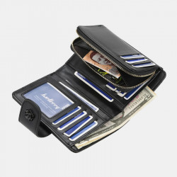 Baellerry Women Faux Leather FashionZipper Wallet Coin Bag Card Holder