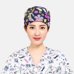 Professional Doctor Nurse Vet Surgical Caps Medical Scrub Cap