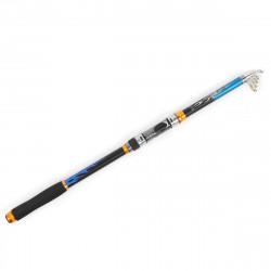 ZANLURE 2.7m Ultralight Hard Telescopic Fishing Rod Portable Sea Lake Spinning Pole
