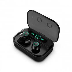 M7 Digital Display TWS Wireless Stereo In-ear Headphone Waterproof Sport Earphone for Mobile Phones