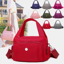 Women Waterproof Multi-pocket Large Capacity Casual Handbag Crossbody Bag