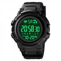 SKMEI 1501 5ATM Waterproof Dgital Smart Watch Luminous Chronograph Calendar Pedometer Sports Watch