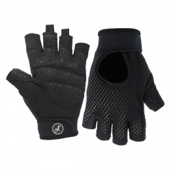 1 Pair Half Finger Gloves Weightlifting Fitness Gym Gloves Hand Protector Sports Exercise Gloves